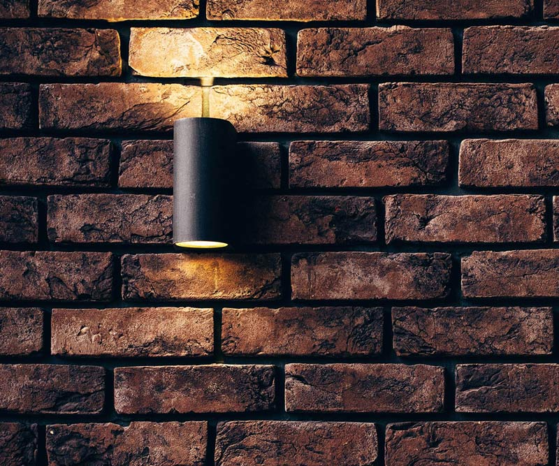 Wall mounted cannister light